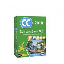 ACSI CampingCard Führer 2018 Campingführer inkl. Campingcard