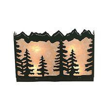 Rustic Wall Sconce Cabin Unique Tree - Avalanche Ranch M13914