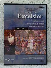 Luigi Manzotti Excelsior (Dvd, 2003) Romualdo Marenco La Scala Opera Ballet