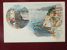 """CAMOGLI illustrata M. WIELANDT no viaggiata """"900 f/p #970"""