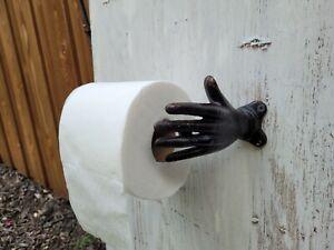 Hand Toilet Paper Holder, Bath, Fixture, Bathroom Hardware Modern decor TP