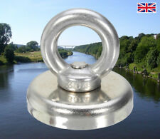 GB MEGA-MAG Super Strong Magnet Fishing Neodymium Recovery Magnet 90kg Pull