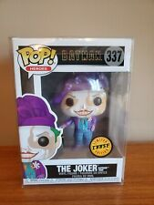 Funko Pop Heroes The Joker Limited Edition Chase #337~No Reserve~Pop Protector~