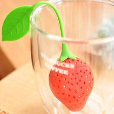 Hot Reusable Food Strawberry Shaped Bag Holder Tea Coffee Punch Tea Infuser