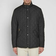 RRP £150 BARBOUR CHELSEA SPORTS NAVY MENS JACKET SIZE LARGE quilted belstaff new