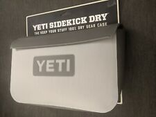 YETI SIDEKICK DRY GEAR CASE FOG GRAY WATERPROOF NEW