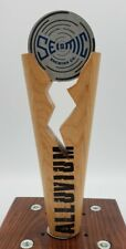 Seismic Alluvium Pilsner Wooden Beer Tap Handle for Bar Pub Mancave Decor 8""