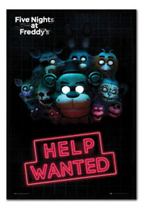 Five Nights at Freddy's Help Wanted MAGNETIC NOTICE BOARD Inc Magnets
