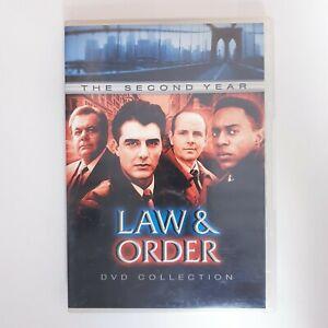 Law and Order Season 2 DVD TV Series Free Post Region 4 AUS - Drama Crime