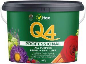 Vitax Q4 Fertiliser 10Kg  Multi-Purpose with essential Trace Elements