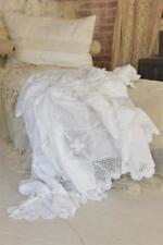 Jeanne d´Arc Living Decke Grannydecke Überwurf Plaid Tagesdecke Shabby Vintage