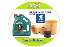Kit Tagliando Olio e Filtri PEUGEOT 207 1.6 HDI 68Kw/92cv  dal 2009 IN POI