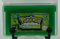 Pokemon Clover Version v1.2 Homebrew Fan Made Custom Game Boy Advance 18+