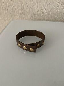 Louis Vuitton VIP Armband - Vernis Cuir Monogram Mittelbraun -