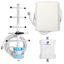 New 1900MHz Cellular Signal Booster 70dB Repeater Amplifier with Antennas Kit