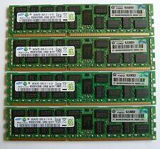 32gb (4x8gb) Memory pc3-10600r ecc ddr3-1333mhz HP DELL IBM Apple Lenovo