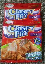 3 pack of Ajinomoto Crispy Fry Breading Mix Spicy Flavor (Exp. 10.2019)
