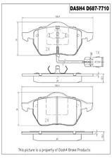 Disc Brake Pad Set-Turbo Front Dash 4 Brake CD687