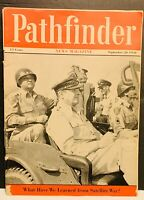 Pathfinder Magazine Sept 20 1959 What We Learned From War