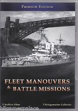 'Fleet Manouvers & Battle Missions' of the Kriegsmarine (DVD 2011)