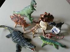 Carnegie Dinosaur lot T Rex Carnotaurus Dilophosaurus Mosasuarus Deinosuchus