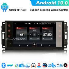 Android 10 GPS Car Stereo Radio Jeep Compass Dodge Chrysler Patriot DAB+ CarPlay