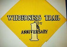 BOY SCOUT  WILDERNESS TRAIL  1ST ANNIV  N/C    MICH