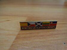 CLASSIC SCOTLAND EURO 2012 QUALIFYING GROUP I MATCHDAY ENAMEL PIN BADGE