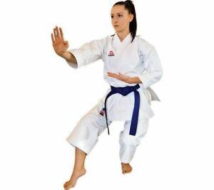 Hayashi WKF Approved Karate-Gi KATAMORI Uniform 13oz Pre-Washed Cotton SNAP CUT