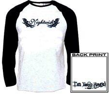 Nightwish - Logo Baseball Shirt X Large