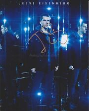 Jesse Eisenberg HAND SIGNED 8x10 Photo, Autograph, Now You See Me, Batman Social