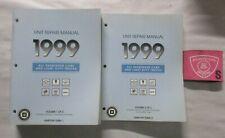 1999 Gm Car Truck Transaxle Transmission Transfer Unit Repair Service Manual