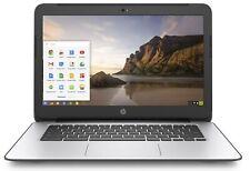 HP Chromebook 14 G4 Celeron N2840 2.16GHZ 4GB  16GB SSD Webcam Chrome OS Black