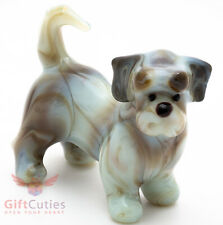 Art Blown Glass Figurine of the Havanese dog