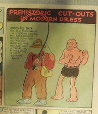 Alley Oop Sunday by VT Hamlin from 8/15/1937 Tabloid Size Page Rare! Paper Doll