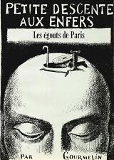 Les égoûts de Paris Gourmelin 9 pages décembre 1968 P1026135