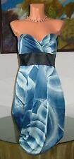 NWT BCBG Max Azria Ink Combo Silk Dress, sz 6 * $258 *