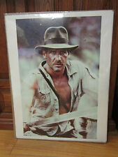 Vintage Indiana Jones Harrison Ford poster