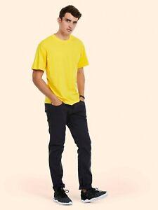 Uneek Classic Mens T-Shirt UC301 (XS-6XL) Unisex Work Wear Causal Tee Top
