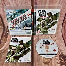 PLAYSTATION 3 GAME KANE & LYNCH Dead Men 18+ PERFECT DISC LOOK 👀 FREE UK P&P
