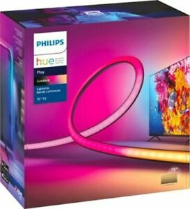 """Philips Hue Play Gradient Lightstrip 75""""  In Hand Fast Shipping Same Day"""