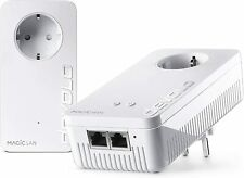 Devolo Magic 2 WiFi ac Starter Kit schnellstes Powerline Mesh-WLAN 2400 Mbit/s