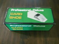 Professional Deluxe 4-Deck Card Dealing Shoe - New Open Box