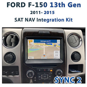 FORD F150 SYNC II - GPS NAV Integration kit / worldwide map covered