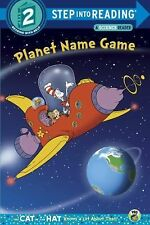 Planet Name Game (Dr. Seuss/Cat in the Hat) (Step into Reading) by Rabe, Tish, G