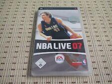 NBA Live 07 2007 per SONY PSP * OVP *