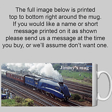 Mallard - Steam Locomotive / Train - Personalised Mug / Cup