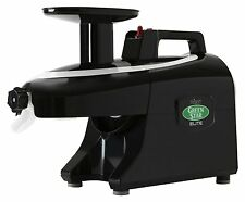 Tribest Greenstar Elite GSE-5010 Jumbo Twin Gear Slow Masticating Juicer Black