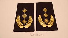 Bundeswehr rango trabillas ejercito suéter amarillo sobre negro el teniente general