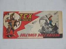 TEX STRISCIA serie PRIMA n.14  Ed. Audace 1948  !!!!!!!!